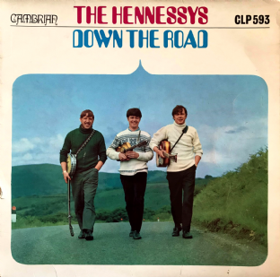 Hennessys (The) ‎- The Road And The Miles (LP) (G/G++)